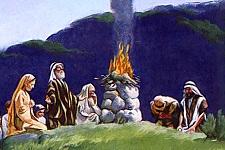 «Lève-toi, monte à Béthel, et demeures-y; là, tu dresseras un autel au Dieu qui t'apparut, lorsque tu fuyais Ésaü, ton frère.»