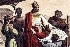 «Salomon bâtit Thadmor au désert, et toutes les villes servant de magasins en Hamath.»