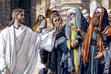 «Malheur à vous, scribes et pharisiens hypocrites, parce que vous fermez aux hommes le royaume des cieux!»