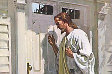 «Behold, I stand at the door, and knock.» (Revelation 3:20)